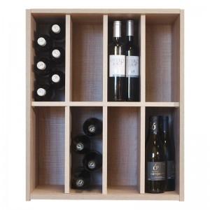 Botellero  organizador 48 botellas 8 divisiones|EX7208 Serie Malbec