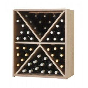Estantería división triangular para 48 botellas |EX7210 Serie Malbec