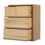 Estanteria con baldas extraibles para cajas de vino|EX7230 Serie Malbec