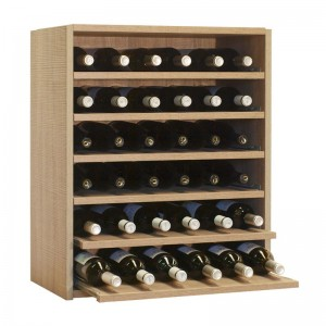 Botellero Seis Baldas  extraibles para 36 botellas|EX7240 Serie Malbec