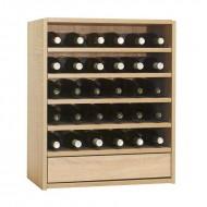 Estantería vino baldas y cajón accesorios 30 botellas|EX7241 Serie Malbec