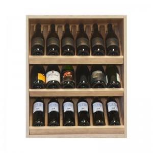 Modulo Botellero expositor vinoteca para 18 botellas |EX7250  Serie Malbec