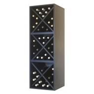 Botellero estantería triple cubo 48 botellas|EX6316 Serie Merlot