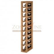 Botellero en madera para 10 botellas de vino - Serie Godello|EX2031