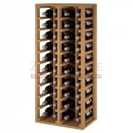 Botellero vino 40 botellas en madera → Botellero Godello|EX2034