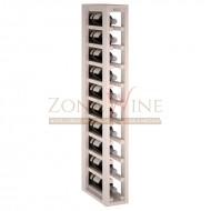 Botellero modular Blanco 1 x 10 en madera de pino Serie Godello|EW2031