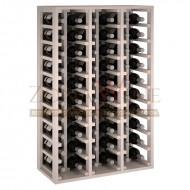 Botellero modular Blanco 60 botellas|Serie Godello de 10 a 60 botellas|EW2060