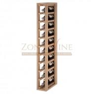 Botellero modular para 10 botellas de vino en madera maciza de roble - foto 1