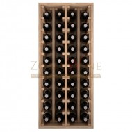 Botellero modular Godello 4 x 10 en roble de 10 a 60 botellas|ER2034