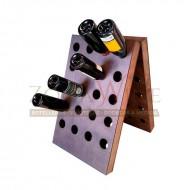 Botellero de suelo para 40 botellas de vino o cava - foto 2
