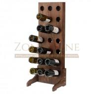 Botellero vino para 21 botellas en color nogal|EX4521