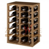 Botellero apilable para 24 botellas casa o bodega-EX2014