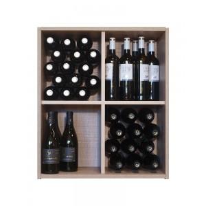 Estanteria Botellero División Cruz 60 botellas| EX7204 Serie Malbec