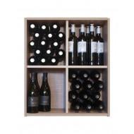 Estanteria Botellero División Cruz 60 botellas  EX7204 Serie Malbec