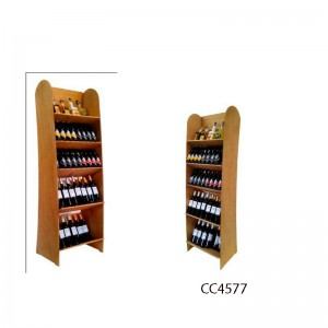 Expositor Profesional Vinos y Gourmet 60-90 botellas|CC4577 Personalizable