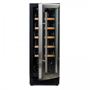 Vinobox 20 Design → vinoteca integrable encastrable - frontal puerta abierta