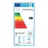 Vinobox 300 Design 2T → vinoteca integrable para 300 botellas - eficiencia energética A