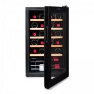 Vinobox 24 Pro → vinoteca pequeña para 24 botellas - vista frontal con la puerta abierta