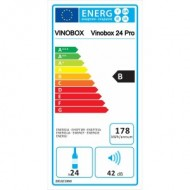 Vinobox 24 Pro → vinoteca pequeña para 24 botellas - energía B