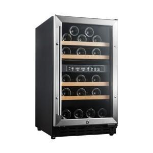 Vinoteca pequeña encastrable → Vinobox 40 GC 2T Inox