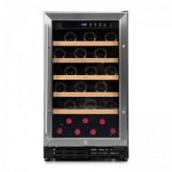 Vinoteca integrable 37 botellas → Vinobox 40 GC 1T Inox