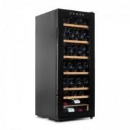 Vinoteca para 96 botellas → Vinobox 96 Pro - vista lateral con la puerta cerrada