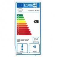 Vinoteca para 96 botellas → Vinobox 96 Pro - Eficiencia energética A