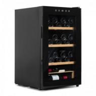 Vinoteca pequeña para 48 botellas → Vinobox 48 Pro - vista perfil con la puerta cerrada
