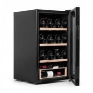 Vinoteca pequeña para 48 botellas → Vinobox 48 Pro - vista perfil con la puerta abierta