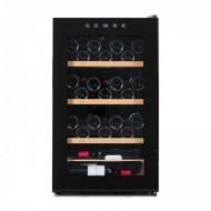 Vinoteca pequeña para 48 botellas → Vinobox 48 Pro - vista frontal con la puerta cerrada