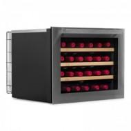Vinoteca pequeña integrable → Vinobox 24 Design - vista de perfil con la puerta cerrada