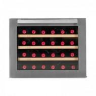 Vinoteca pequeña integrable → Vinobox 24 Design - vista frontal con la puerta cerrada