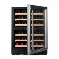 Pequeña vinoteca para 50 a 60 botellas → Vinobox 50GC 2T