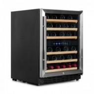 Pequeña vinoteca para 50 a 60 botellas → Vinobox 50GC 2T - vista lateral puerta cerrada