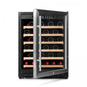 Vinoteca integrable para 50-60 botellas → Vinobox 50GC 1T | ZonaWine - vista frontal puerta abierta