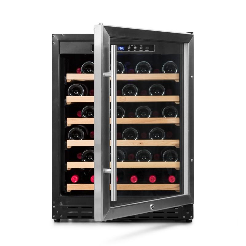 Vinoteca integrable para 50-60 botellas → Vinobox 50GC 1T | ZonaWine - vista frontal puerta abierta