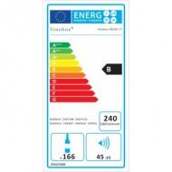 Vinoteca 168 botellas color negro → Vinobox 168GC 1T Inox - eficiencia energía B