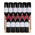Vinoteca integrable para 168 botellas → Vinobox 168GC 2T Negro - estantería con botellas de vino