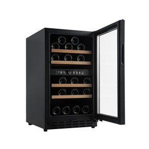 Vinoteca pequeña e integrable 33 botellas → Vinobox 40GC 2T Negro