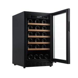 Vinoteca encastrable para 37 botellas → Vinobox 40GC 2T Negro