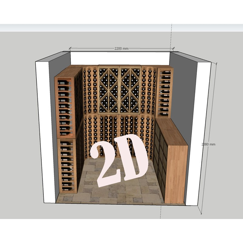 vinoteca-privada-serie-godello-de-diseño de zonawine