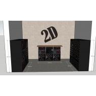 vinoteca-privada-serie-Merlot-diseño de Zonawine.com