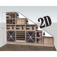 vinoteca-privada-serie-MALBEC-diseño de Zonawine.com