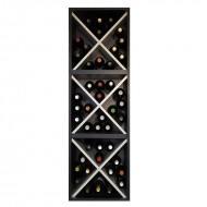 EW6316 botellero tipo cubo en blanco en negro de zonawine.com f