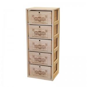 Mueble botellero con cajones para vino con logos personalizables|EX2554