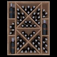 Botellero Expositor Vinoteca de 82 x 105 x 32 | Serie Godello | EX2538