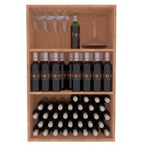 Estantería  Botellero para vinos, licores y copas EX2523