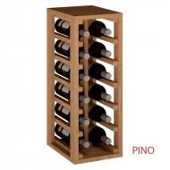 Pequeño Botellero para 12 Botellas para cocina o bodega|EX2010