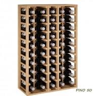 Botellero Magnum y Bordelesa 50 botellas combinadas-Serie Godello|EX2066