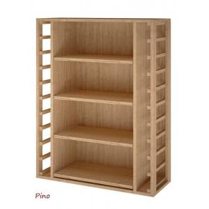 Mueble Estantería para cajas de vino de madera de 12 botellas|EX2542